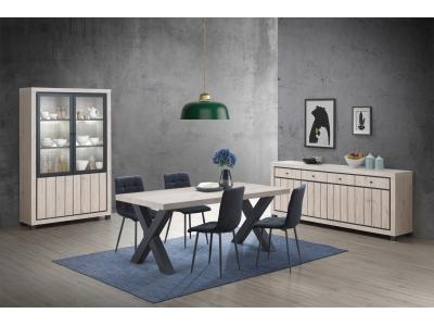 Table salon en chêne